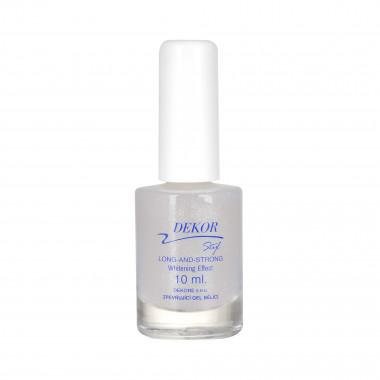 Dekor Zpevňující gel na nehty bělící 10ml