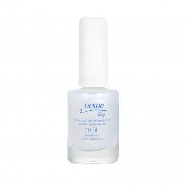 Dekor Silikon + Kalcium bělící gel na nehty 10ml