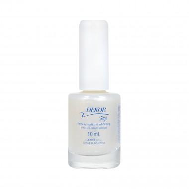 Dekor Protein + Kalcium bělící gel na nehty 10ml