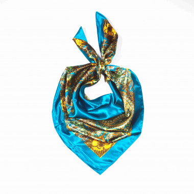 Saténový šátek na krk čtvercový 90cm * 90cm 8B1-121731