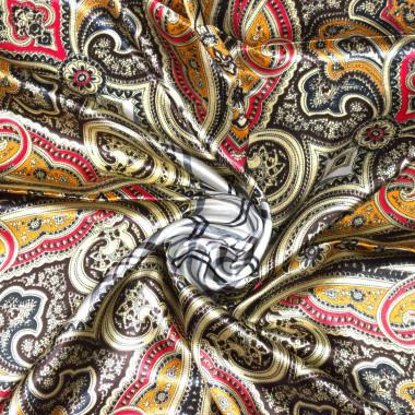 Saténový šátek na krk čtvercový 90cm * 90cm 8B2-121741