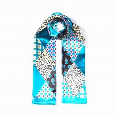 Saténový šátek na krk čtvercový 90cm * 90cm 8B2-121737