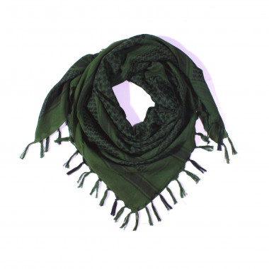 Čtvercový šátek s třásnemi palestina 110cm * 110cm 3B2-2231