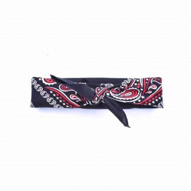 Bandana šátek paisley černý 53/53