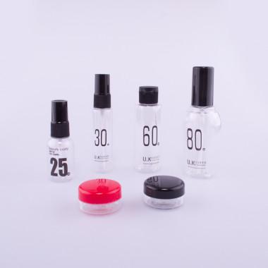 Coxes cestovní sada kosmetických lahviček style
