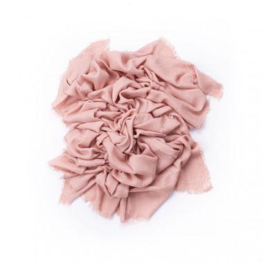 Maxi šála jednobarevná růžová 210/100