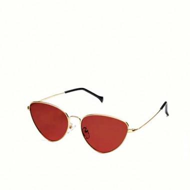 LUEUR Sluneční brýle cat eye červené