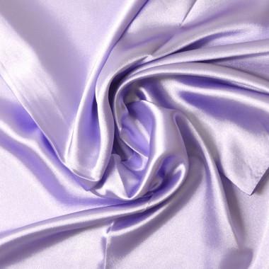 """Čtvercový šátek na krk světle fialový  57cm * 57cm """"LETUŠKA"""" 1B3-2638"""
