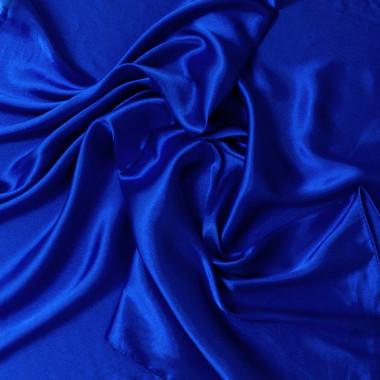 """Čtvercový šátek na krk modrý 57cm * 57cm """"LETUŠKA"""" 1A3-2644"""