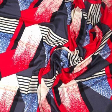 Extra velký dlouhý šátek přes ramena s třásněmi 9C1-121615