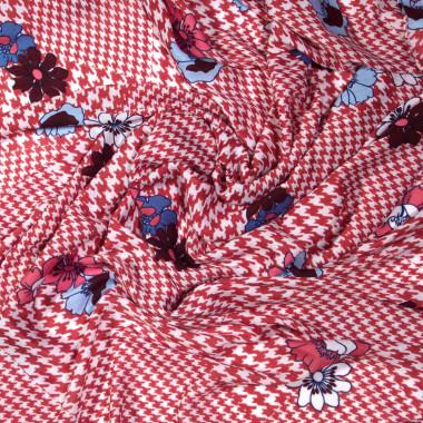 Extra velký dlouhý šátek přes ramena s třásněmi 9C2-121617