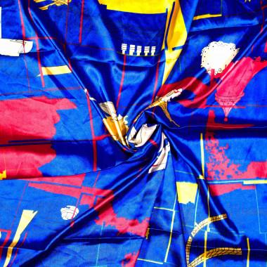 Saténový šátek na krk čtvercový 90cm * 90cm 3C3-121537