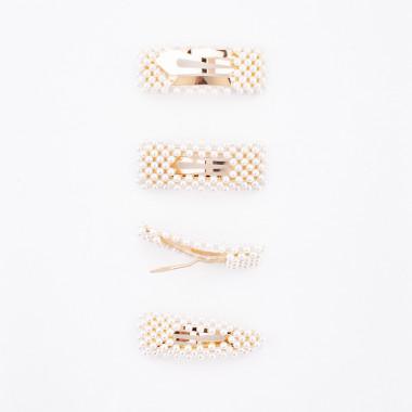 Glamorous zlaté prolamovačky Petit 4 ks