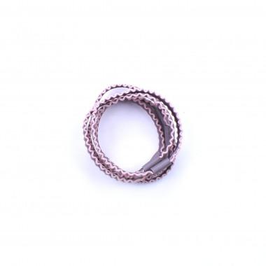 Gumičky do vlasů old pink 5 ks / 5 cm