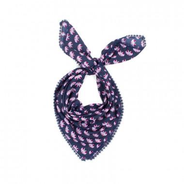 YSTRDY Elegantní dámský šátek na krk s krajkou 100/100