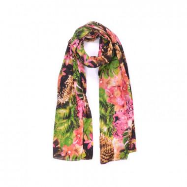 YSTRDY Dlouhý šátek přes ramena tropic 200/100