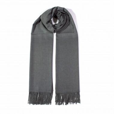 COXES - jednobarevná šála šedá unisex 250g - 210cm*70cm 6C2-758