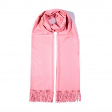 COXES - jednobarevná šála růžová unisex 250g - 210cm*70cm 6C2-759