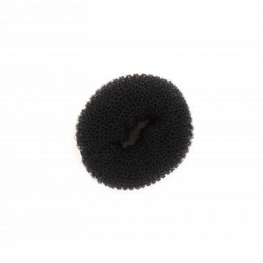 Twister umělá podložka do drdolu černá 6 cm