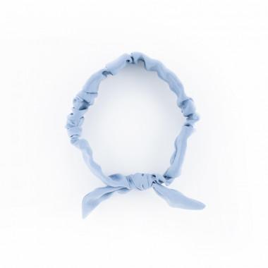 Pin-Up látková čelenka Slim modrá