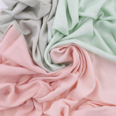 Maxi šála deka pink&green 140/140