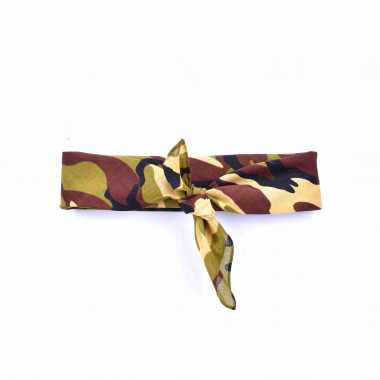 Pin-UP šátek do vlasů Army 53/53
