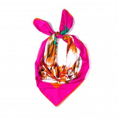 Saténový šátek na krk čtvercový 100cm * 100cm 3C2-121526