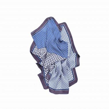 Šátek na krk s desénem mix Abstrakt 70/70