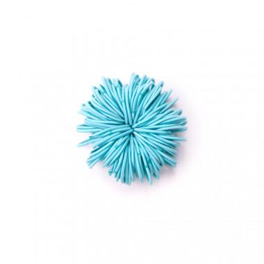Gumičky do vlasů slim sv. modré 100 ks / 3 cm