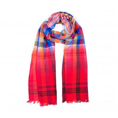 Fraas | šátek obdélníkový | kostkovaný vzor 14