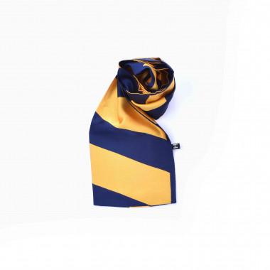 Slim šátek s desénem pruhy 150/15