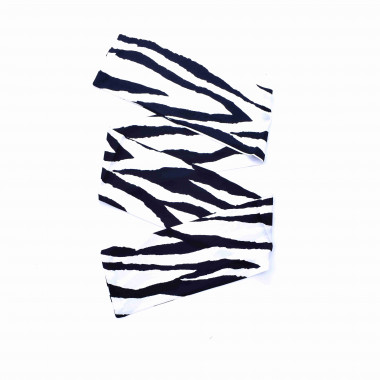 Slim šátek s desénem zebry 150/15