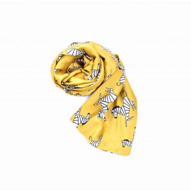 Slim šátek s desénem zebra 150/15