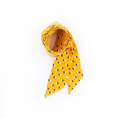 Slim šátek s desénem tutam 200/5