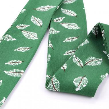 Slim šátek s desénem lupínky 200/5