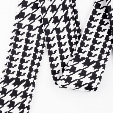 Slim šátek s desénem kohoutí stopa 200/5