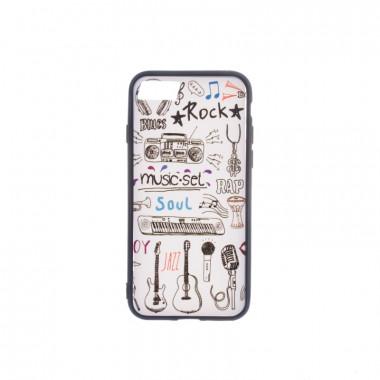 SIX Plastové pouzdro pro iPhone 7 / C841