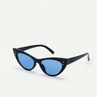 LUEUR Sluneční brýle cat eye modré skla B291