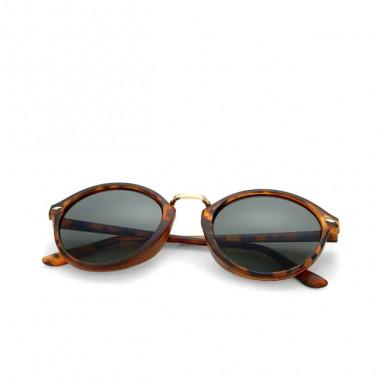 LUEUR Sluneční brýle round želví obroučky B240
