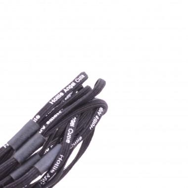 Gumičky do vlasů 2v1 Černé 5 ks / 5 cm