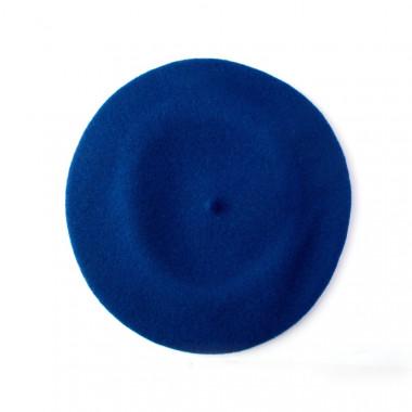 Tonak Flora Dámský vlněný baret tmavě modrý