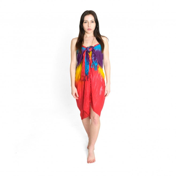 Sarong ruční výroba vzor batika 200cm 13B3-198335  93ca0d7d64
