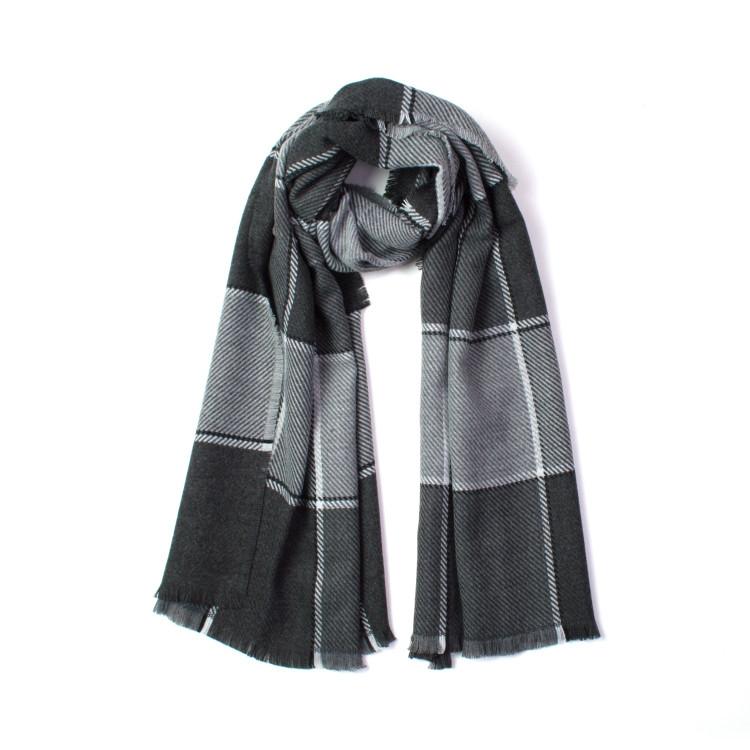 606d47960a7 Fraas dámská zimní šála přes ramena kostkovaná 180 60